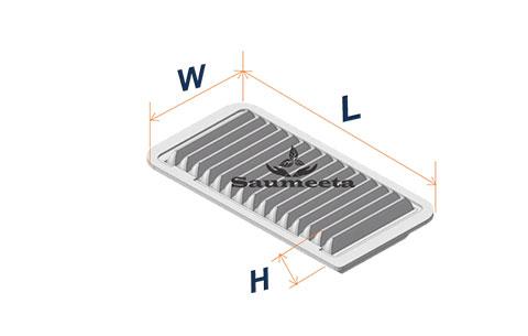 فیلتر هوا برای تویوتاکرولا۲۰۰۵