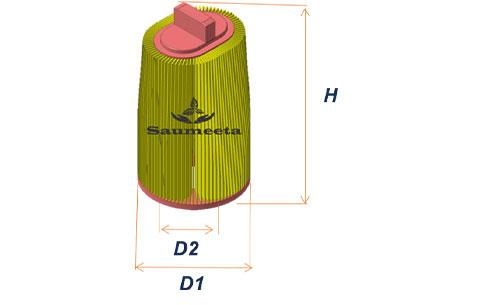 فیلتر هوا برای مرسدسبنزسیکلاساس۲۰۲