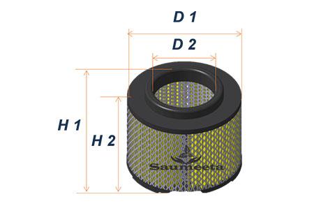 فیلتر هوا برای لندکروزوانتدوکابین